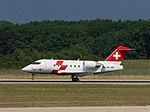 REGA - Swiss Air Ambulance, HB-JRB, Bombardier Challenger 600 (20655520248).jpg
