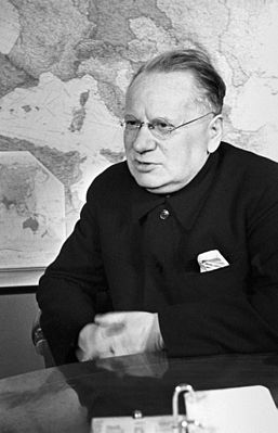 Нарком иностр. дел СССР М.М. Литвинов