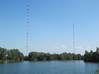 Topolná transmitter Longwave transmitter