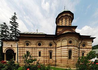 Cozia Monastery - Holy Trinity Church of the Cozia Monastery