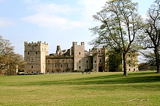 Raby Castle - A view of Raby Castle, County Durham (Spring 2009)