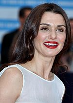 Photo of Rachel Weisz attending the Deauville American Film Festival in 2012.