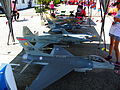 Radio-controlled Aircraft Display under Tent in 2013 Chih Hang Air Force Base Open Day 20130601.jpg