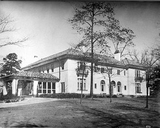 Druid Hills, Georgia - Rainbow Terrace, home of Lucy Beall Candler Owens Heinz Leide at 1610 Ponce de Leon Ave., 1922