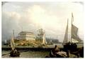 RainsfordIsland BostonHarbor ca1840 byRobertSalmon SimonsUPNE.png