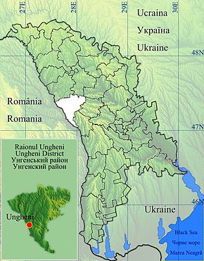 Ungheni is located in Ungheni
