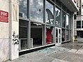 Raleigh, North Carolina George Floyd death protest damage 04.jpg