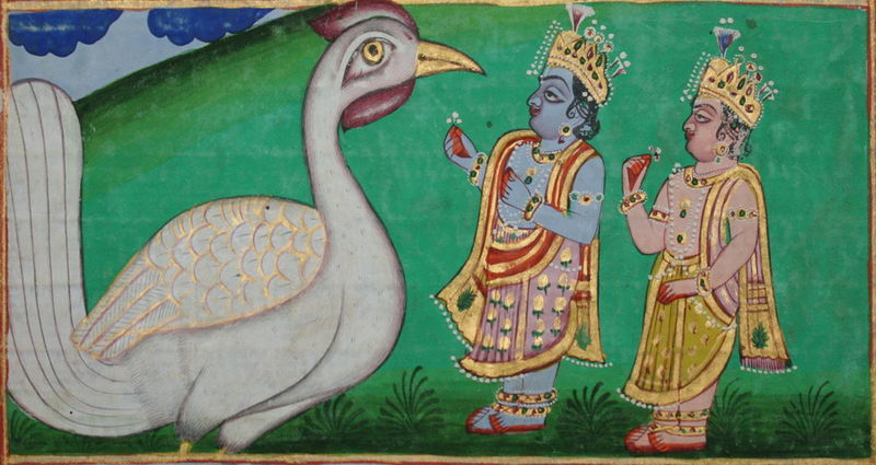 File:Rama and Lakshmana making offerings to Jatayu.jpg