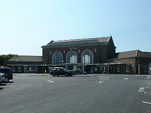 Historic buildings in Ramsgate - Ramsgate railway station