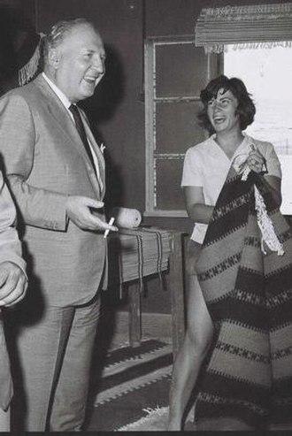 Randolfo Pacciardi - Pacciardi in 1958.