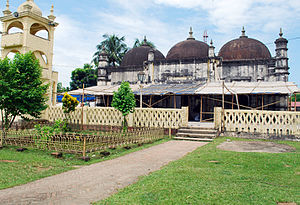 Islam in Assam - Panbari Mosque is the oldest mosque in Assam