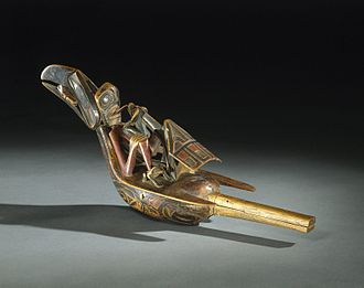 Shamanism - Raven Rattle, 19th century, Brooklyn Museum
