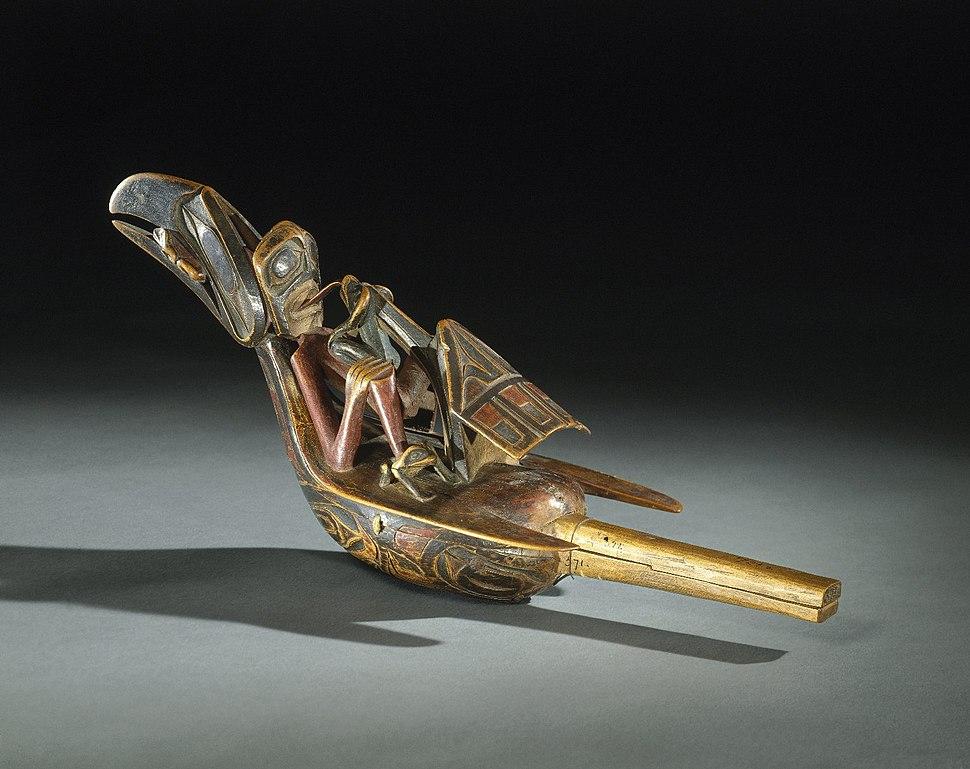 Raven Rattle, 19th century, 05.588.7292