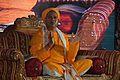 Ravi Shankar Sharma - Morning Prayers - Rawatpura Sarkar Ashram - Chitrakoot - Satna 2014-07-06 7009.JPG