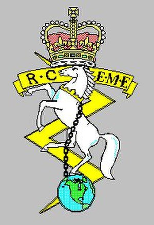Corps of Royal Canadian Electrical and Mechanical Engineers - Rceme1952