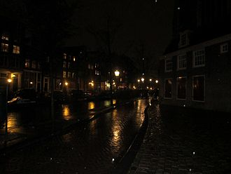 De Wallen - De Wallen by night.