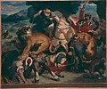 Redon - Copie d'après La Chasse aux lions de Delacroix, 1855.jpg