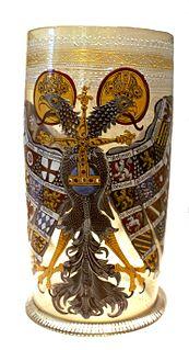 Imperial Eagle beaker