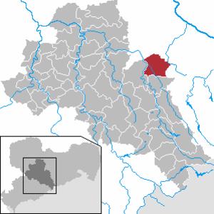 Reinsberg, Germany - Image: Reinsberg in FG