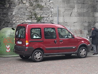 Renault Kangoo - Renault Kangoo Trekka