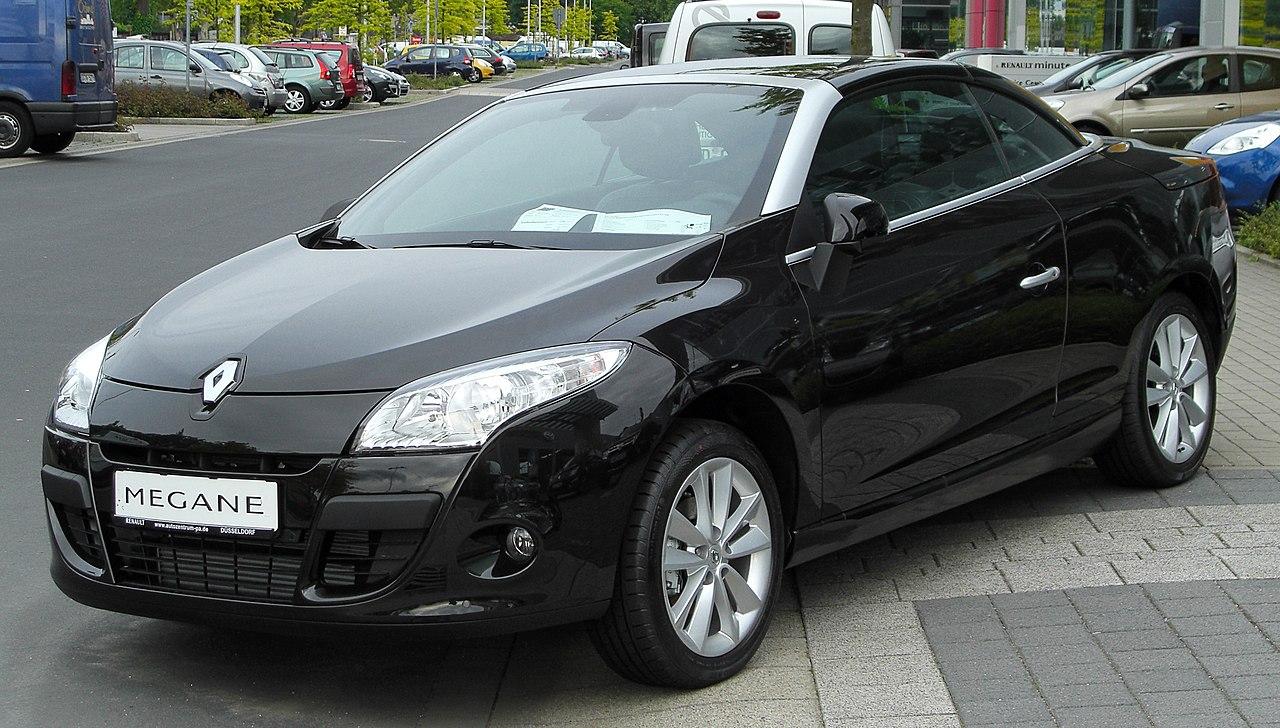 File Renault Megane Cc Iii Front 20100529 Jpg Wikipedia