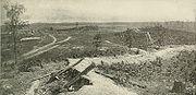 Confederate defenses at Resaca.