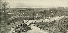 Confederate defenses at Resaca.