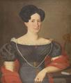 Retrato de D. Francisca Possolo da Costa, Francília Pastora do Tejo - Oficina portuguesa.png