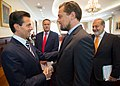 Reunión con Leonardo DiCaprio y Carlos Slim (35036336431).jpg