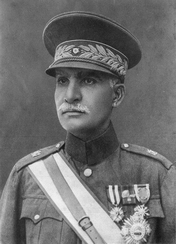 Reza shah uniform