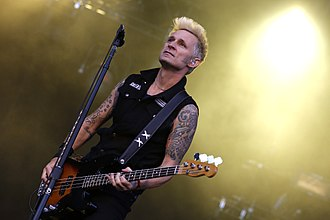 Mike Dirnt - Mike Dirnt performing at Rock im Park, Nuremberg in 2013.