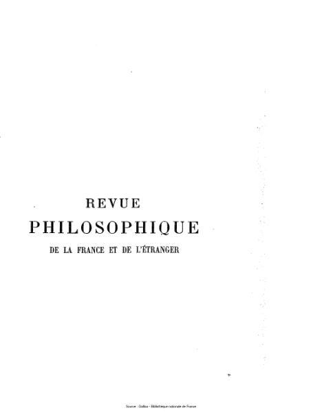File:Ribot - Revue philosophique de la France et de l'étranger, tome 73.djvu
