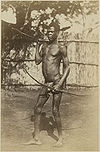 Richard Buchta - Avokaya man with bow and spear.jpg
