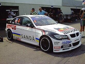 WestCoast Racing - Richard Göransson's WestCoast Racing-run BMW 320si.