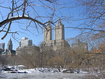 Central Park is pretty at any time of the year.