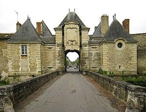 Richelieu, Indre-et-Loire - Town gate