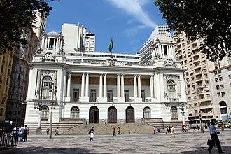 Câmara Municipal - Building of the Câmara Municipal of Rio de Janeiro.