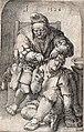 Rob Møhlmann Museum Møhlmann Leyden, Lucas van, De Chirurgijn, 1524, gravure, 11,5x7,5cm.jpg