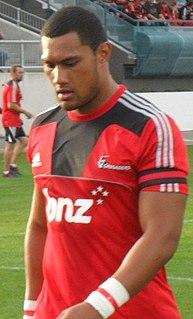 Robbie Fruean Rugby player