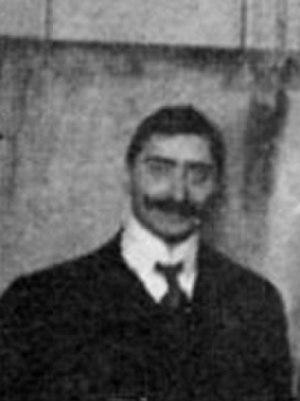 Robert Goldschmidt - Robert Goldschmidt at the first Solvay Conference in 1911