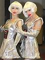 Robot Entertainer, Human Statue Bodyart, Bodypainting (8329104013).jpg