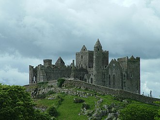 Munster - The Rock of Cashel, Co. Tipperary, historical seat of the Kings of Munster