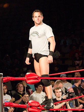 No Remorse Corps - Roderick Strong, the leader of the first incarnation of the No Remorse Corps