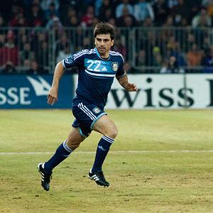 Rodrigo Braña - Image: Rodrigo Braña Switzerland vs. Argentina, 29th February 2012