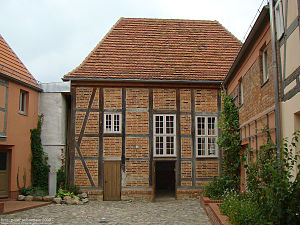 Röbel - Röbel's historical Jewish centre, the synagogue.