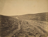 Roger Fenton - Shadow of the Valley of Death