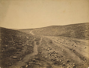 Roger Fenton - Image: Roger Fenton Shadow of the Valley of Death
