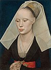 Portrait of a Lady (van der Weyden, c.1460)