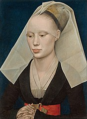 Portrait of a Lady - Rogier van der Weyden, 1460