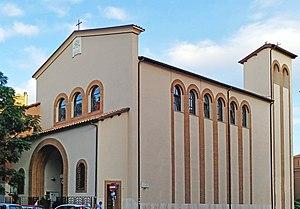 Roma, chiesa di Santa Paola Romana - Esterno.jpg